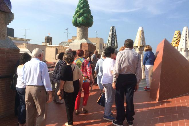 Visita al palau Güell